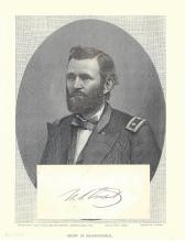 Ulysses S. Grant Led the Union Army to Victory -- His Bold Autograph, Image