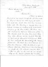 Wool Tariff, America's First Protectionist Legislation; Chester Arthur's Lobbyist Reports