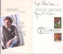 American Realist Painter James Browning Wyeth: Postal FDC, Christmas Card