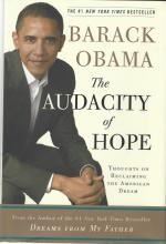Audacity of Hope, Barack Obama, First Edition, Hardcover, Signed