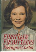 First Edition, First Lady from Plains: Rosalynn Carter's Memoir, Inscribed, Signed