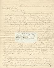 Civil War Letter: Officers Saluted; Seward Visits; Guns Fired at Yorktown