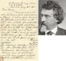 Civil War Photographer Matthew Brady, in Financial Straits, Asked to Pay Debt; Docketed by Brady