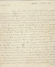 Revolutionary War Diplomat Carmichael Writes Elbridge Gerry: America Needs More Might on the Seas; John Adams Attempts to Get Loan for the Revolution