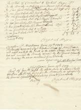 Capt. Ezekiel Hayes Receives Bounty for Making Guns, Locks for Capt. Benedict Arnold's Second Company