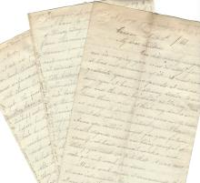 Diary, Letter: Andrew Johnson Tried, Acquitted; Grant Wins Northern States; The Fighting Parson Quits Parson Position