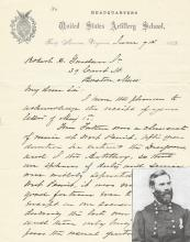 Civil War Decorated Hero, Nominated by Lincoln, Provides Background Information