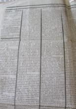 President Lincoln's Assassination, John Wilkes Booth on the Run, Detailed in Period Newspaper