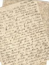 North Carolina Political Letters: Nullifier Party, Largest Slave Holder, Clay's Tariff