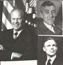 President Ford, Massachusetts Governors, Red Sox Gowdy Sign Menu
