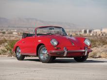 1965 Porsche 356 C 1600 C Cabriolet