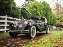 1931 Packard Deluxe Eight Convertible Victoria