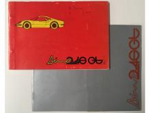 Dino 246 GT Brochure and Parts Manual