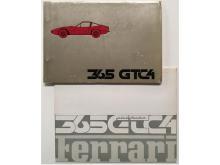 Ferrari 365 GTC/4 Brochure and Parts Manual