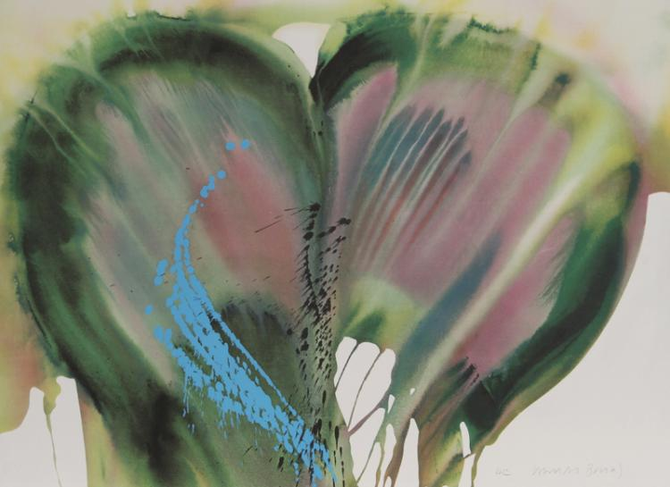 Lamar Briggs, Floral, Lithograph