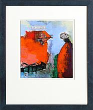 Rachel Gareau, Reflexion, Acrylic Painting