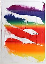 Paul Jenkins, Sri Chinmoy, Silkscreen
