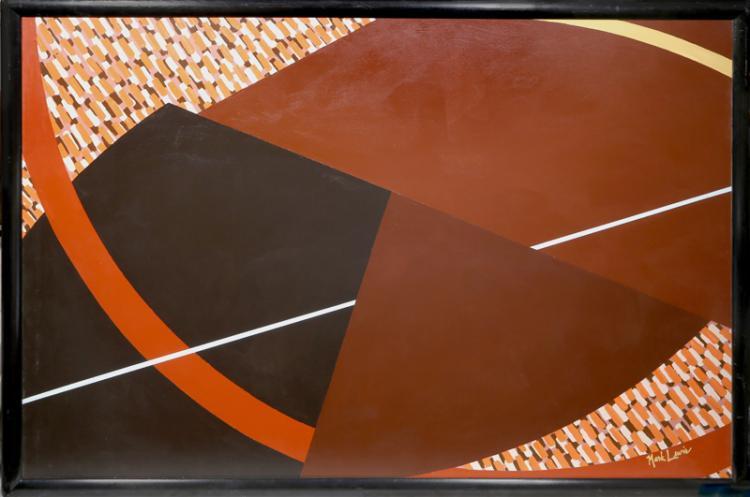 Mark Lewis, Shoot the Moon 4, Acrylic Painting