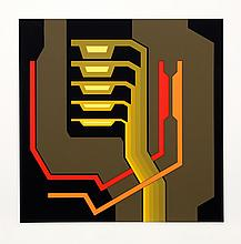 Yves Millecamps, Untitled II, Serigraph