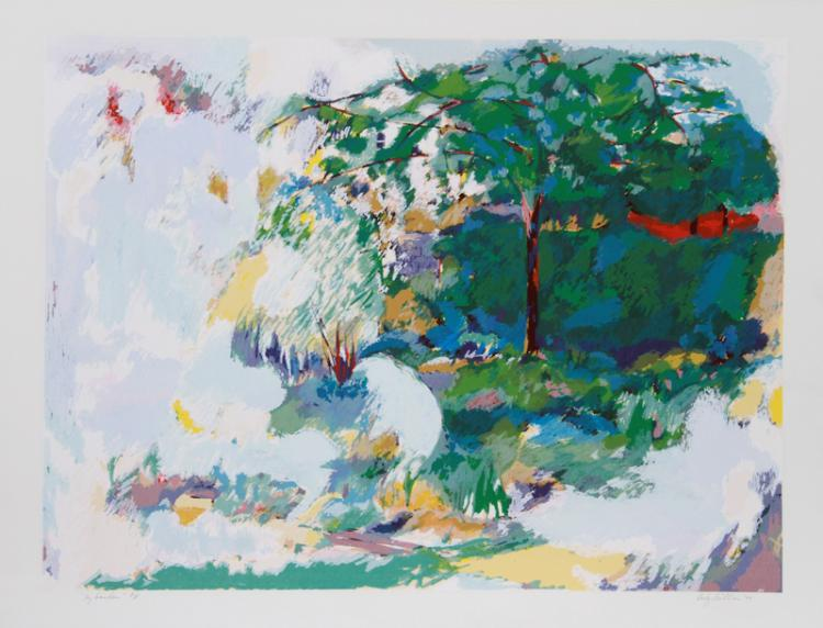 Dody Muller, My Garden, Lithograph