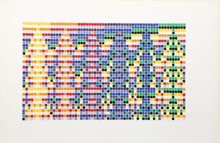 David Roth, Untitled II, Acrylic Painting