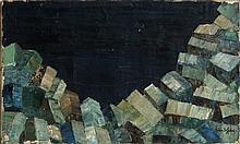 John St. John, Moonlight on la Pile, Oil Painting