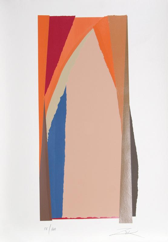 Larry Zox, Bonac II, Serigraph
