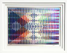 Yaacov Agam, Untitled II, Agamograph