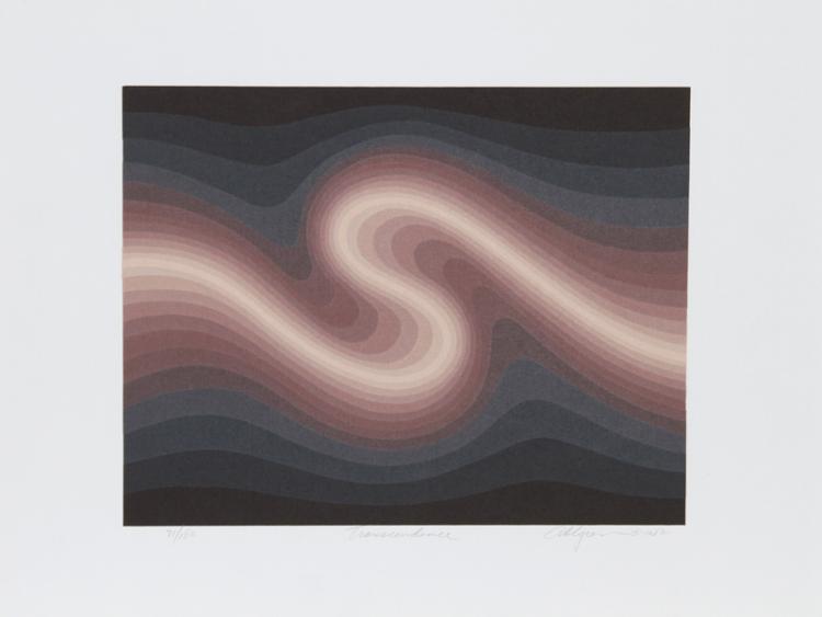 Roy Ahlgren, Transcendence, Silkscreen