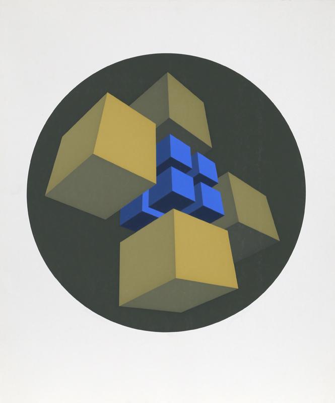 Marko Spalatin, Cube Station, Silkscreen