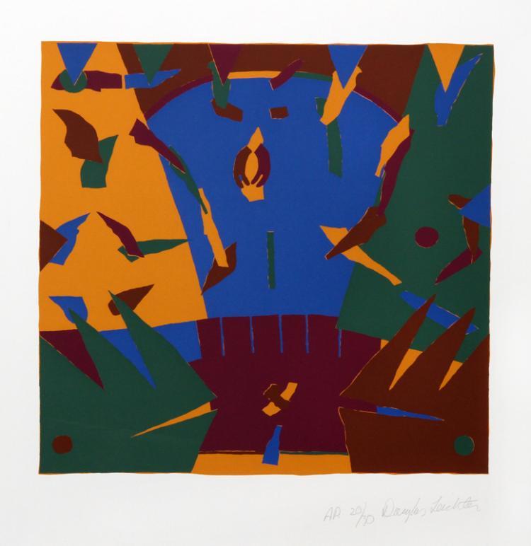 Douglas Leichten, Untitled 1, Serigraph