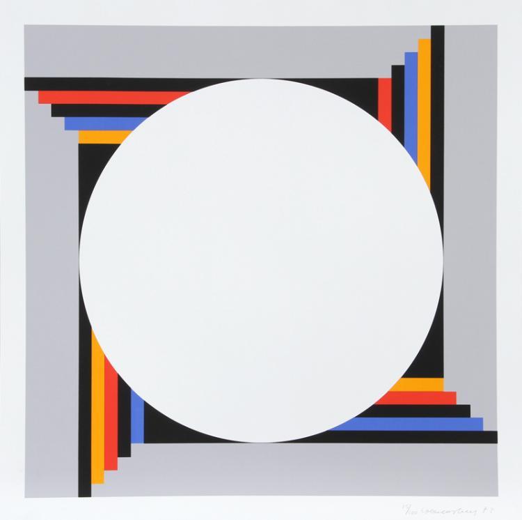 Verena Loewensberg, Untitled from 9x5 Konkret Portfolio, Silkscreen