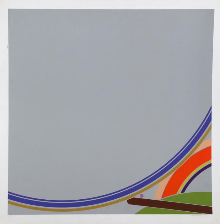 Doug Purcell, Untitled II, Silkscreen
