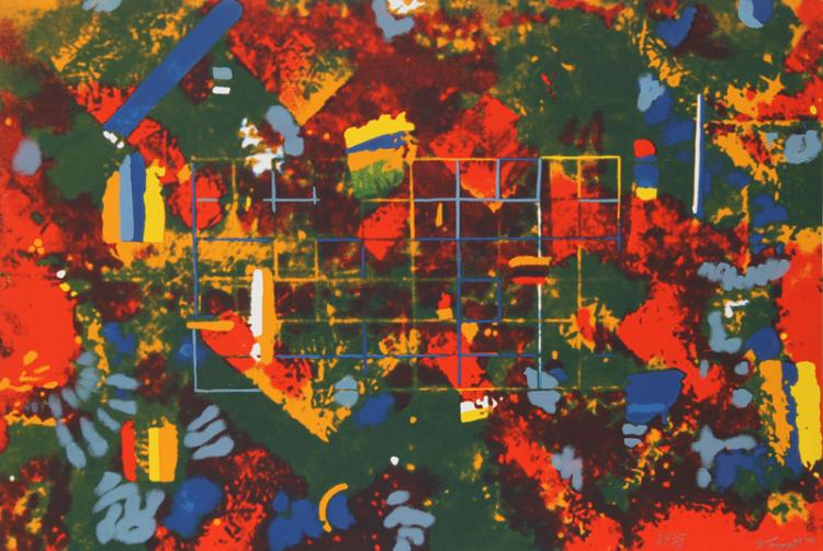 William Taggart, Untitled - Geometric Abstract, Serigraph
