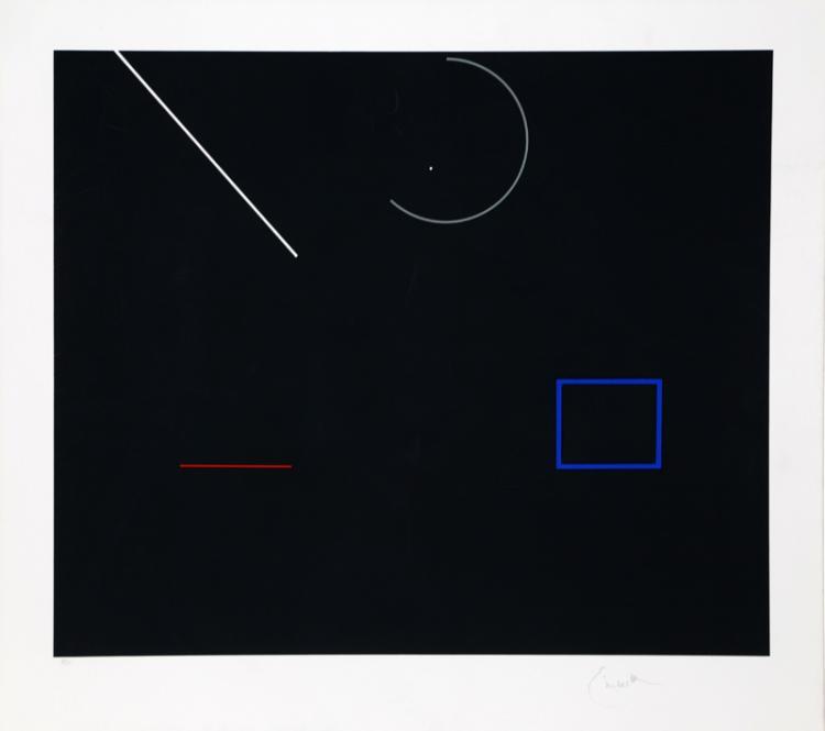 Robert Einbeck, Untitled II, Serigraph