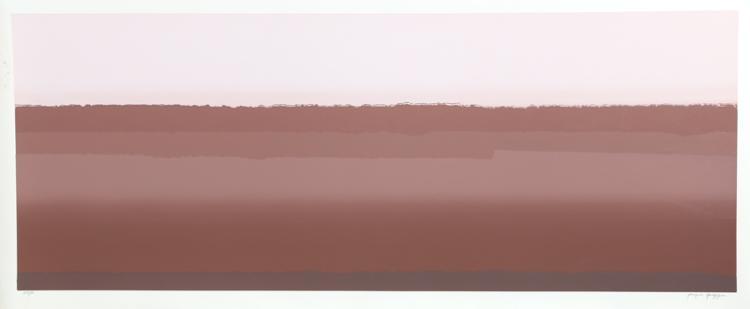 Joseph Grippi, Desert I, Silkscreen