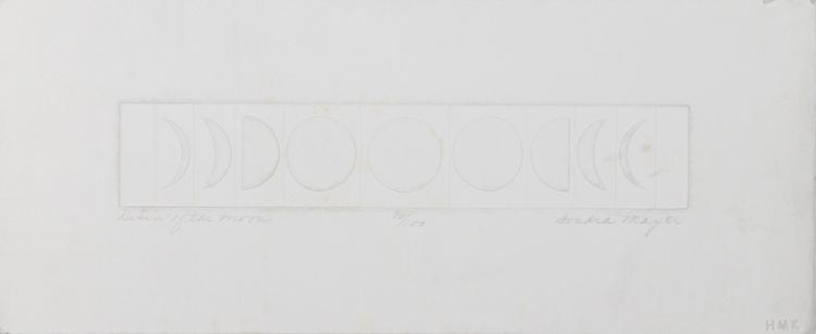 Sondra Mayer, Risin' of the Moon, Intaglio