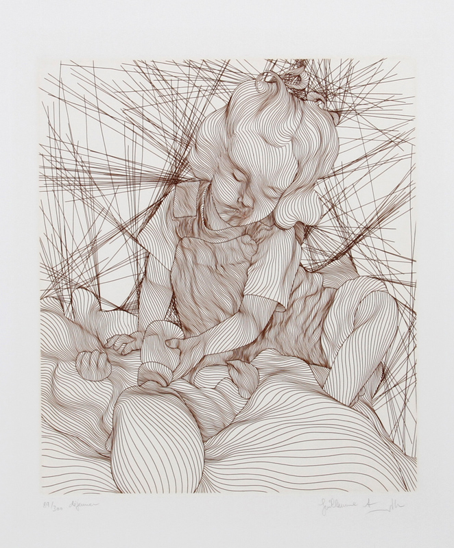 Guillaume Azoulay, Dejeneur, Etching