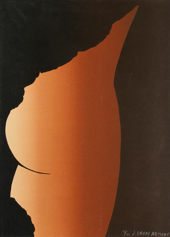 Joan Gardy Artigas, Female Form, Silkscreen