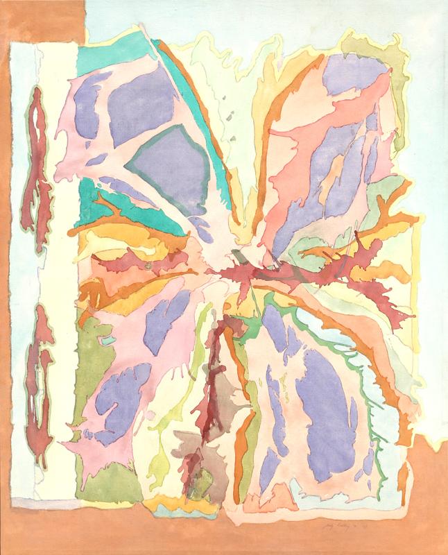 Bety Kohlberg, No. 42, Acrylic Painting