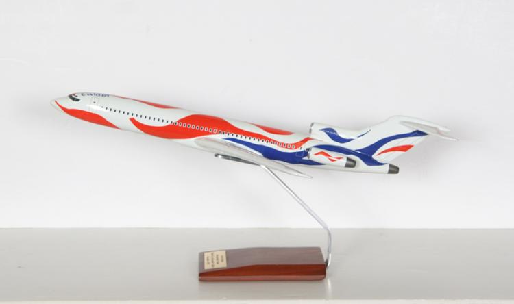 After Alexander Calder, Bicentennial Airplane, Enameled Fiberglass Sculpture