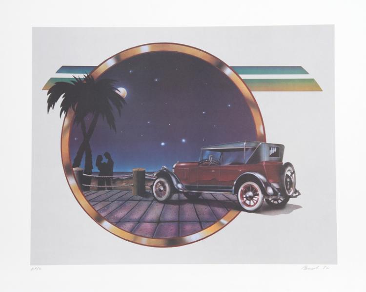 Carmen Console, Moonlight Drive, Lithograph