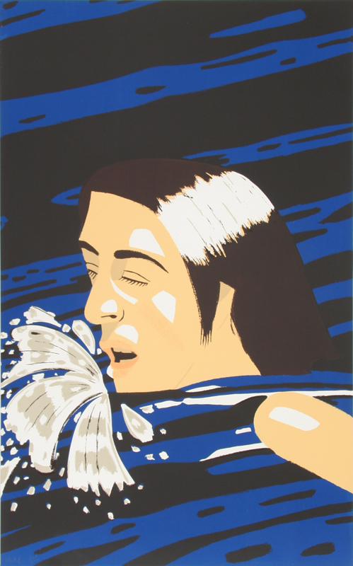 Alex Katz, The Swimmer, Serigraph
