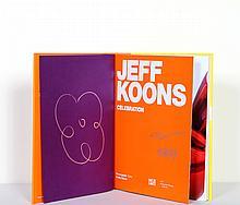 Jeff Koons, Celebration, Small Flower, Silver Marker Drawing in Book