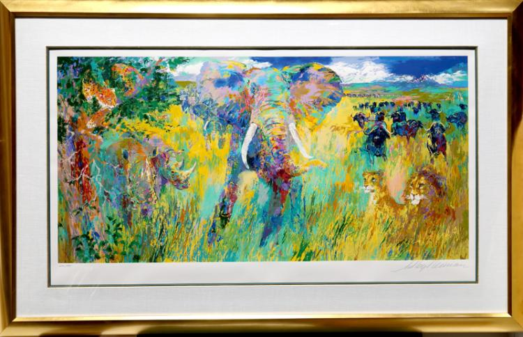LeRoy Neiman, Big Five, Serigraph