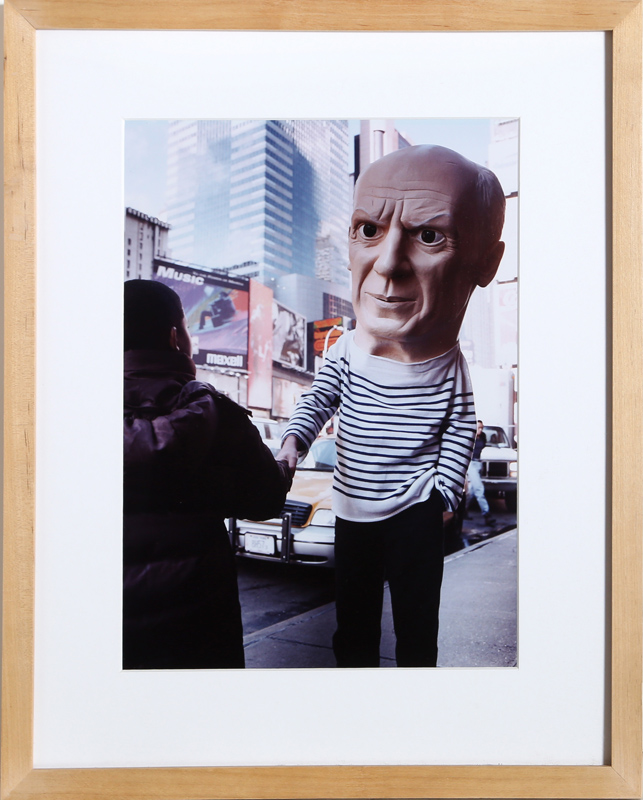 Maurizio Cattelan, Untitled (Picasso), C-Print Photograph