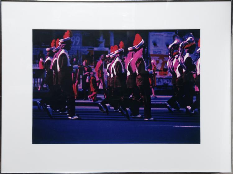 Alan Dennis, Trident Parade, Dye Transfer Photograph