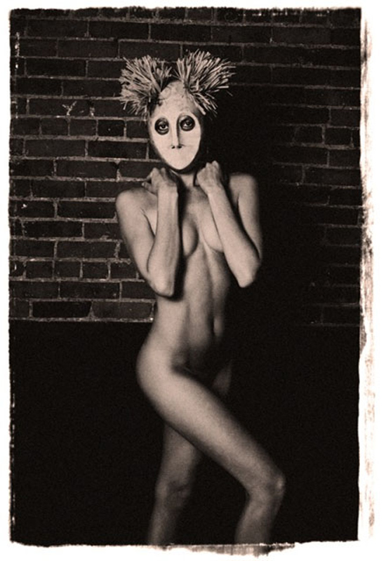 Messias Schneider, Mask III, Metallic C-Print Photograph