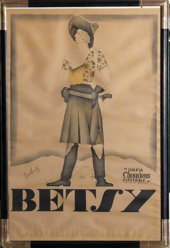 Pascal Bastia, Betsy, Lithograph Poster