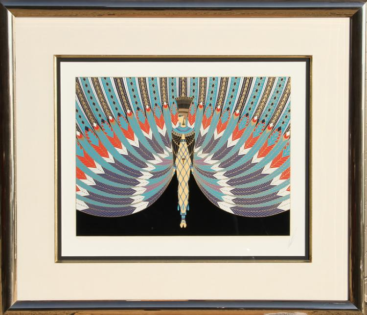 Erte, The Nile, Serigraph